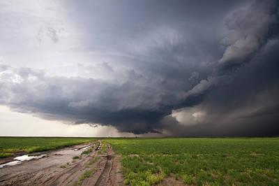 Kansas Distant Tornado Vortex 2 Print by Ryan McGinnis