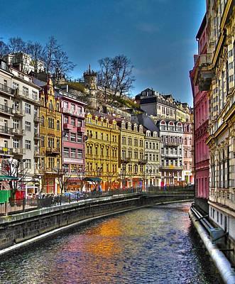 Republic Building Photograph - Karlovy Vary - Ceska Republika by Juergen Weiss