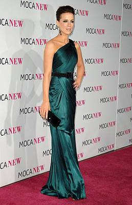 The Moca Collection Photograph - Kate Beckinsale Wearing An Andrew Gn by Everett