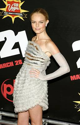 Kate Bosworth  Wearing A Chanel Couture Print by Everett