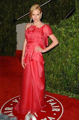 Kate Bosworth Wearing A Valentino Gown Print by Everett