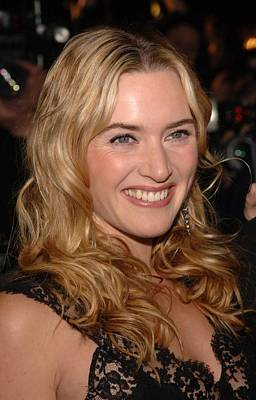 Kate Winslet At Arrivals For Jarhead Print by Everett