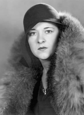 Cloche Hat Photograph - Kathleen Carroll by Sasha