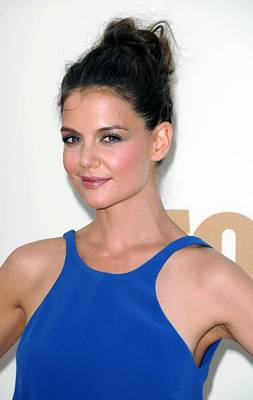 Hair Bun Photograph - Katie Holmes At Arrivals For The 63rd by Everett