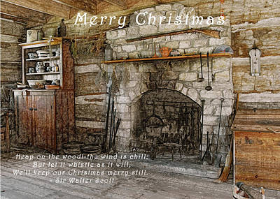 Keep Christmas Merry Print by Michael Peychich