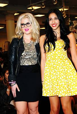 Kelly Osbourne, Lourdes Leon Print by Everett
