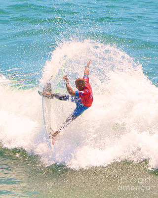 Kelly Slater Photograph - Kelly Slater Us Open Of Surfing 2012    5 by Jason Waugh