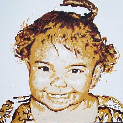 Painting - Kennedy Haskin by Reginald Charles Adams