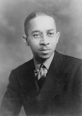 Kenneth B. Clark 1914-2005, African Print by Everett