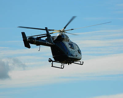 Helicopter Photograph - Kent Air Ambulance by Sharon Lisa Clarke