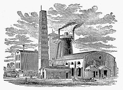Kentucky: Factory, 1876 Print by Granger