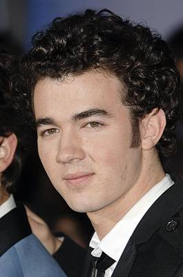 Kevin Jonas At Arrivals For Jonas Print by Everett