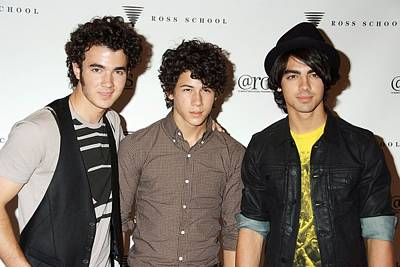 Kevin Jonas, Nick Jonas, Joe Jonas Print by Everett