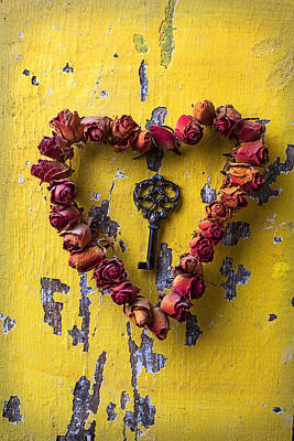February 14th Photograph - Key To My Heart by Garry Gay