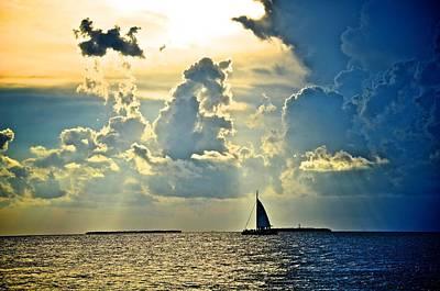 Sunset Photograph - Key West Sunset by Catherine Murton