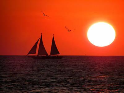 Key West Sunset Print by Joe Myeress