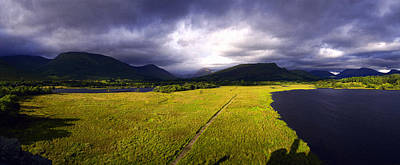 Kilchurm Castle And Loch Awe Original by Jan Faul