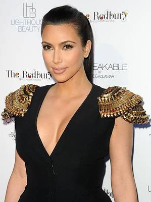 Perfume Fragrance Scent Launch Photograph - Kim Kardashian Wearing An Alexander by Everett