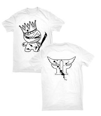 Flightoffancy Tapestry - Textile - King Of Emagee Nation Tee by Joseph Boyd