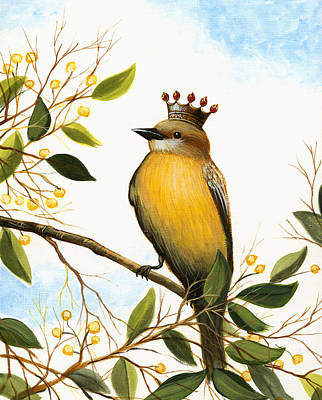 King Of The Forest Original by Amy Giacomelli