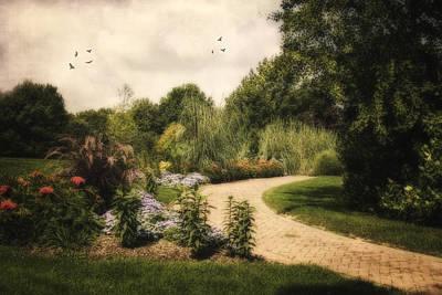 Kingwood Garden Path Original by Mary Timman