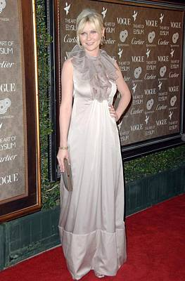 Evening Gown Photograph - Kirsten Dunst Wearing A Valentino Gown by Everett