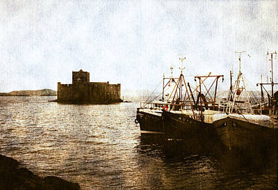 Fishing Boat Photograph - Kisimul Castle Scotland by Jasna Buncic