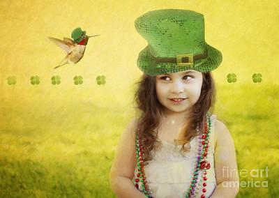 Hummingbird Photograph - Kiss Me I Am Not Irish by Susan Gary