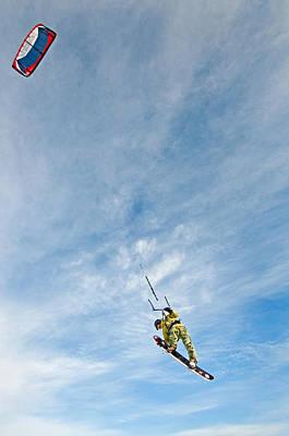 Kite Board Print by Elijah Weber