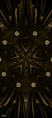 Klidanature Tile Growth Print by Debra     Vatalaro