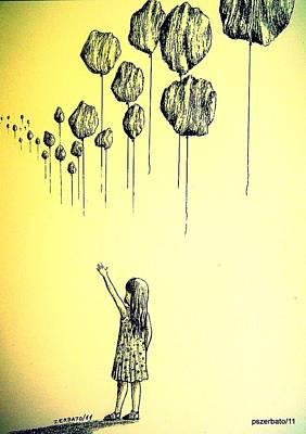 Knowledge Without Wisdom I Original by Paulo Zerbato