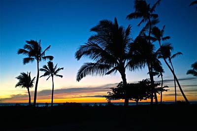 Ko Olina Lagoon Photograph - Ko Olina Lagoon 4 Sunset by Eddie Freeman
