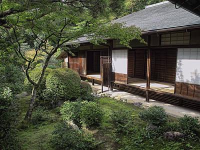 Tea Room Photograph - Koto-in Zen Tea House And Garden - Kyoto Japan by Daniel Hagerman