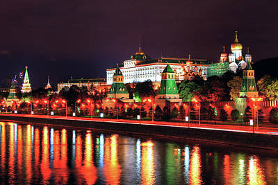 Moscow Photograph - Kremlin, Moscow by Lars Ruecker