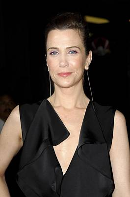 Gold Earrings Photograph - Kristen Wiig At Arrivals For Paul by Everett