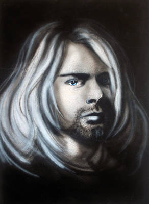 Kurt Cobain Painting - Kurt Cobain by Ann Marie Napoli