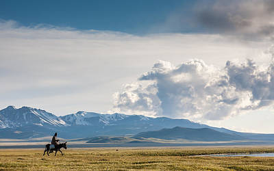Horse Photograph - Kyrgyzstan by Konstantin Dikovsky