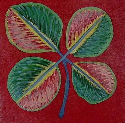 L.a. 4 Leaf Clover Original by Jack Sullivan