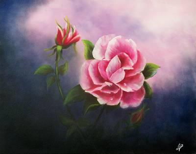 Rose Painting - La Bella Rosa by Joni McPherson