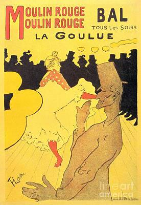 La Goulue Print by Pg Reproductions