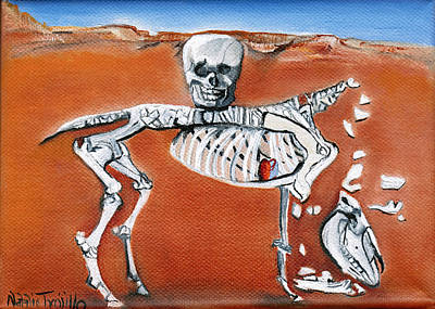 La Llegua Muerta Print by Natalie Trujillo