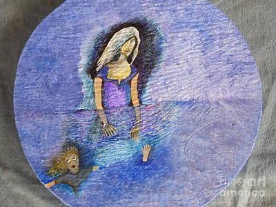 Egg Tempera Painting - La Llorona by Catherine Meyers