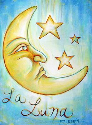 La Luna Original by Heather Calderon