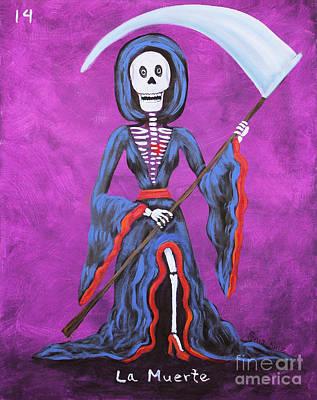 La Muerte Print by Sonia Flores Ruiz