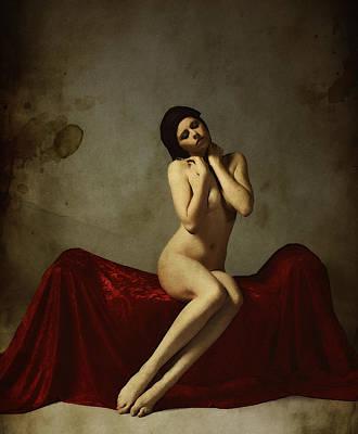 Art Artistic Nude Photograph - La Musa Non Colpevole Aka The Innocent Muse by Cinema Photography