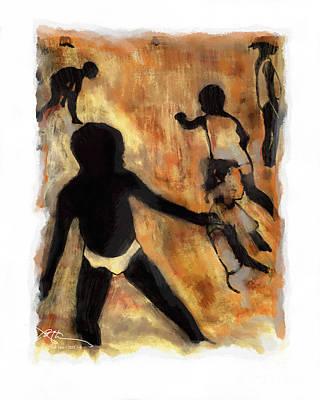 Labadee Beach Haiti Print by Bob Salo