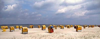 Laboe Beach ... Print by Juergen Weiss