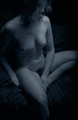 Photograph - Lady In Blue by Heavenly Bodies