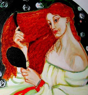 Lady Lilith Print by Rusty Woodward Gladdish