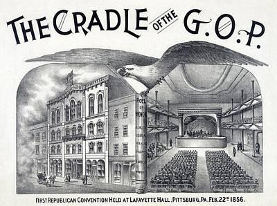Lafayette Hall, Pittsburgh, Pa Where Print by Everett